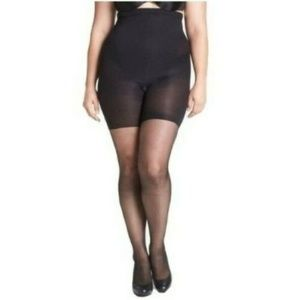 Spanx Shaping Sheers High Waist Size D Black